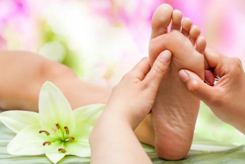 Fußreflexmassage und Ayurveda