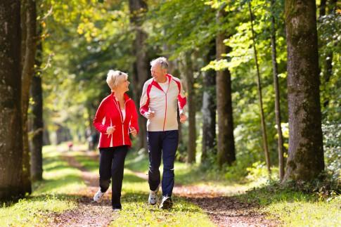 Fitness und Laufen für ein langes und gesundes Leben