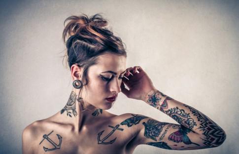 Schwalben-Tattoos