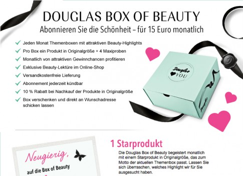 Douglas Box of Beauty