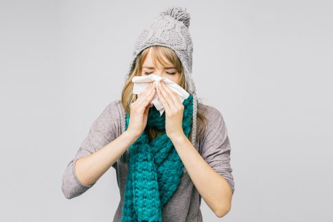 Grippe im Anflug