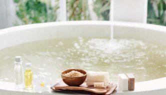 Richtig baden in der Badewanne