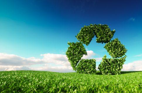 Recycling – Umweltschutz in der Schilderproduktion